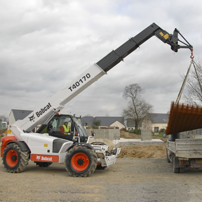 Telescopic Handlers at AMS Bobcat Ltd
